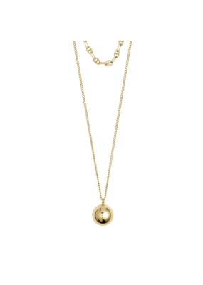 PILGRIM Earth Gold-Plated Necklace by Pilgrim
