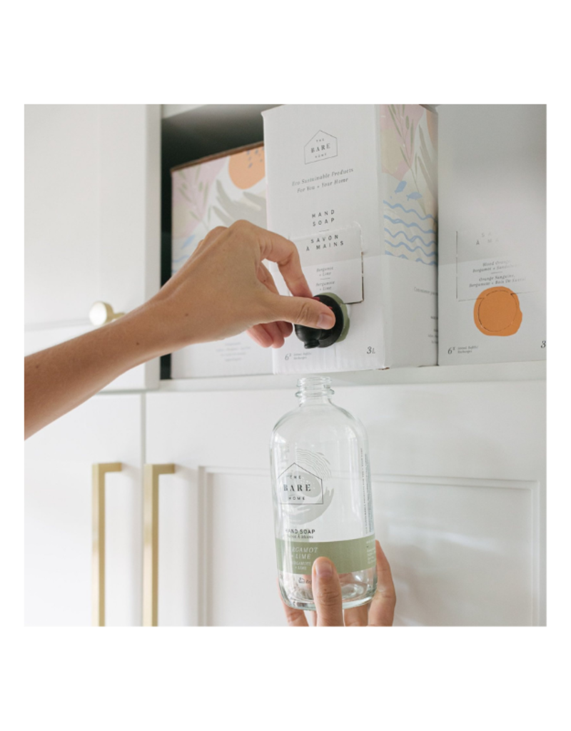 The Bare Home Bergamot + Lime Dish Soap Refill by The Bare Home