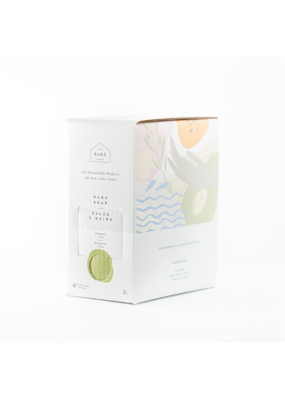 The Bare Home Bergamot + Lime Hand Soap Refill by The Bare Home