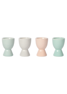 Danica Embossed Egg Cup Set/4