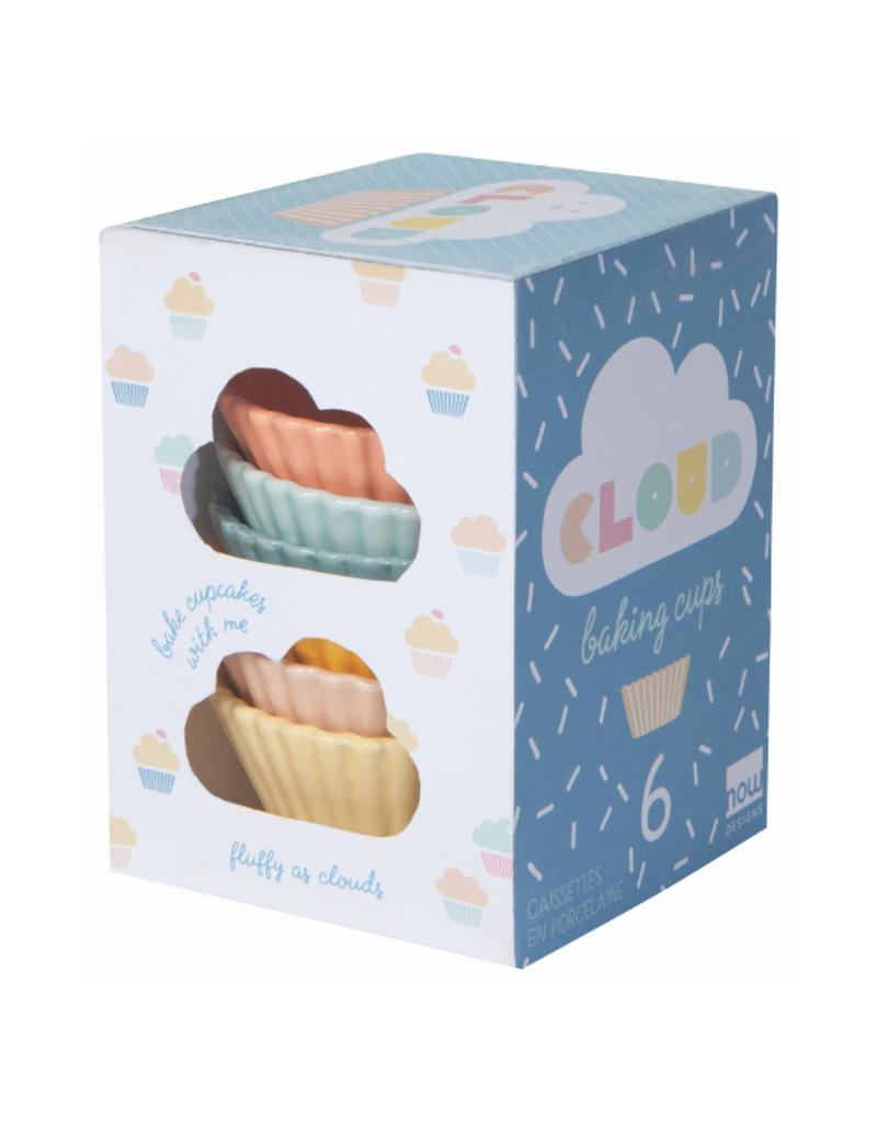 Cloud  Baking Cup Set/6