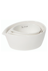 Ivory Measuring Cups Set/4