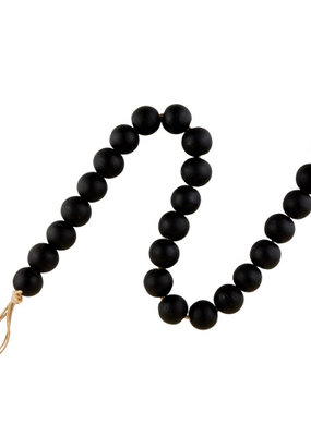 creative brands Glass Decor Beads in Black