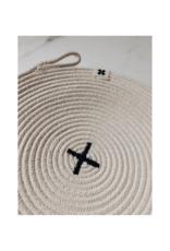 Ten & Co. Ten & Co. Rope Trivet Black