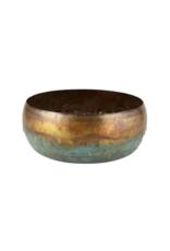 creative brands Large Oxidized Copper Pot