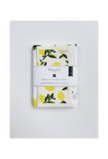 Ten & Co. Swedish Sponge & Towel Gift Set Citrus Lemon