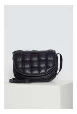 ICHI Leonora Leather Bag Black by ICHI