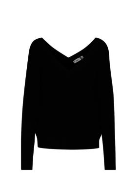 ICHI Karna Sweater Black by ICHI