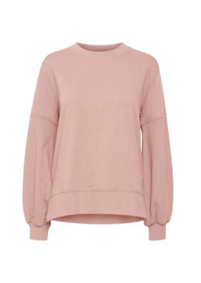 ICHI Lorena Sweater Pink by ICHI