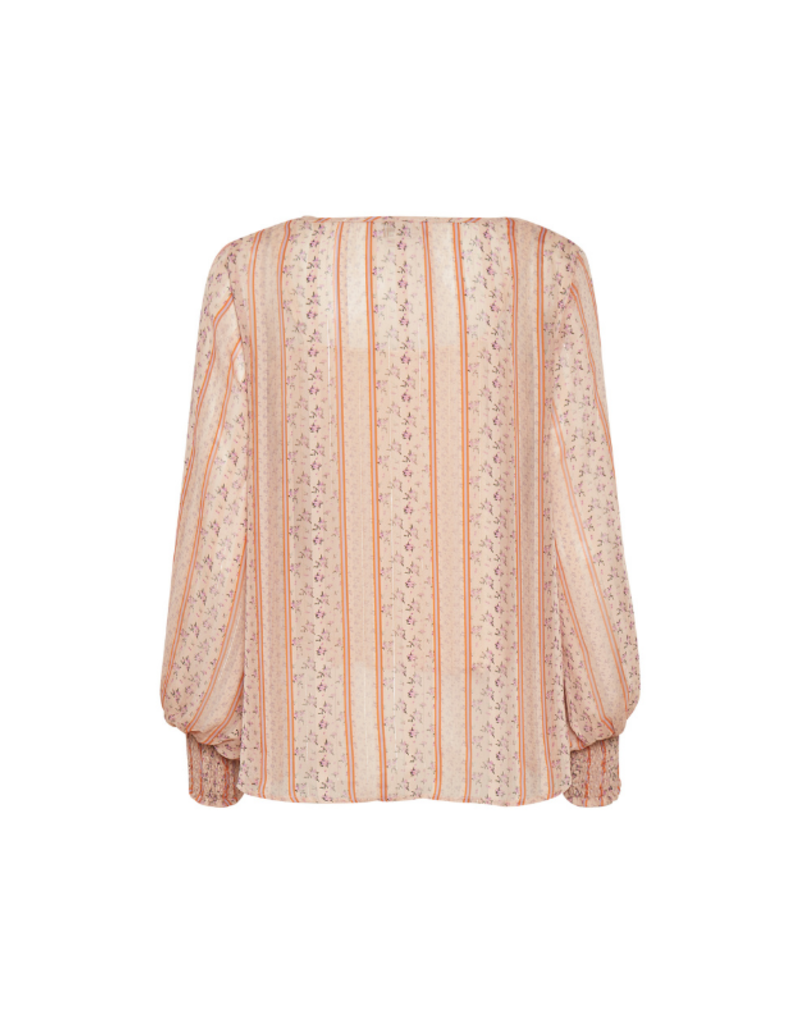 Sheena Blouse in Pink Fower by Cream