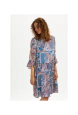 Cream Sheena Dress in Blue Paisley by Cream