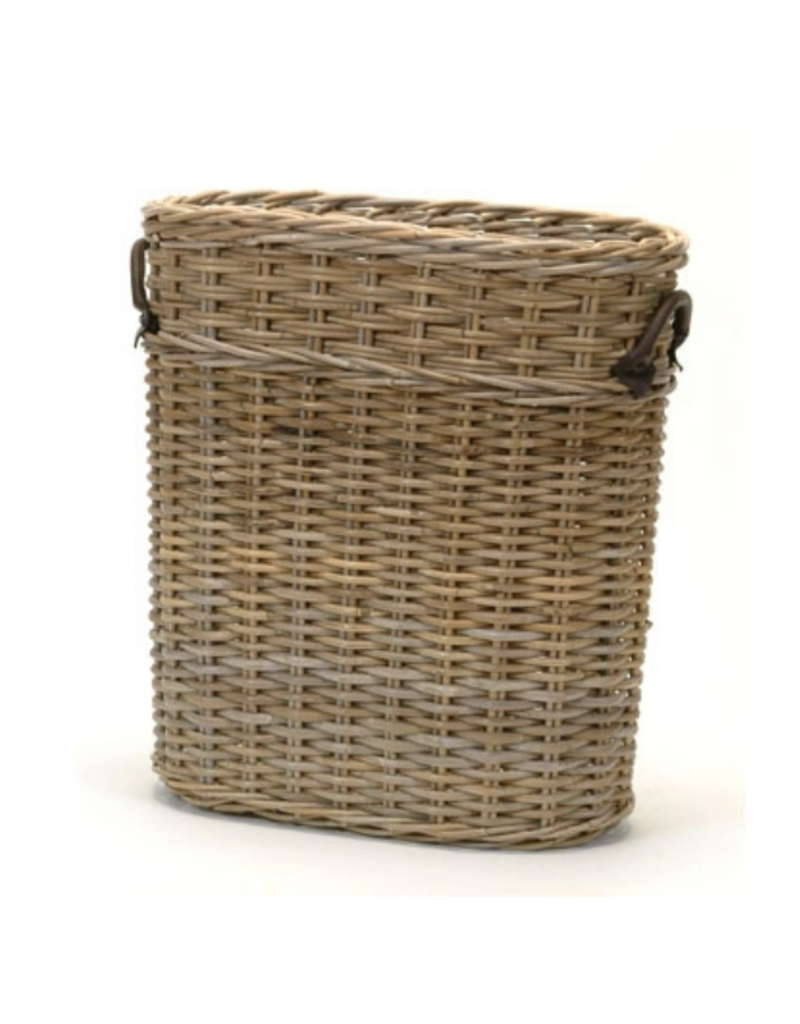 Oval Wicker Umbrella Basket