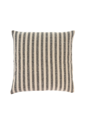 Ingram Stripe Pillow Charcoal