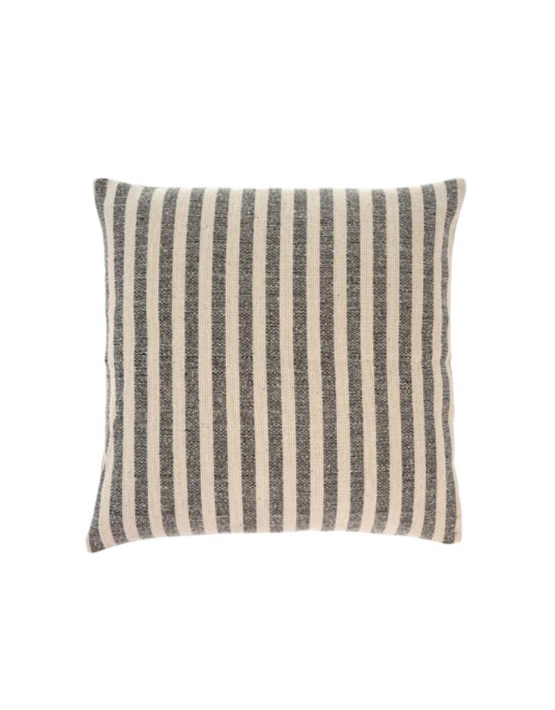 Ingram Stripe Pillow Charcoal