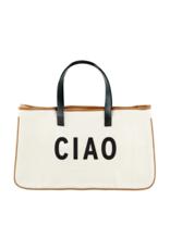 """creative brands Canvas Tote """"Ciao"""""""
