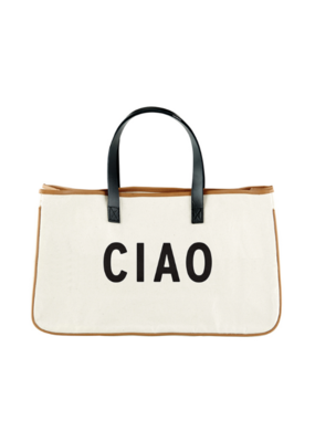"creative brands Canvas Tote ""Ciao"""