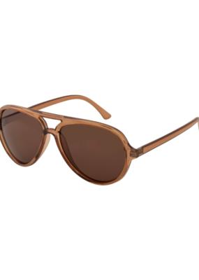 PILGRIM Bria Sunglasses in Brown by Pilgrim