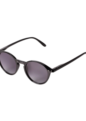 PILGRIM Roxanne Sunglasses in Black by Pilgrim