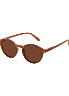 PILGRIM Roxanne Sunglasses in Brown by Pilgrim