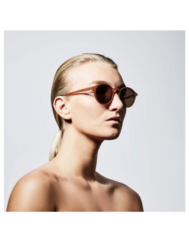PILGRIM Roxanne Sunglasses in Brown by Pilgrim