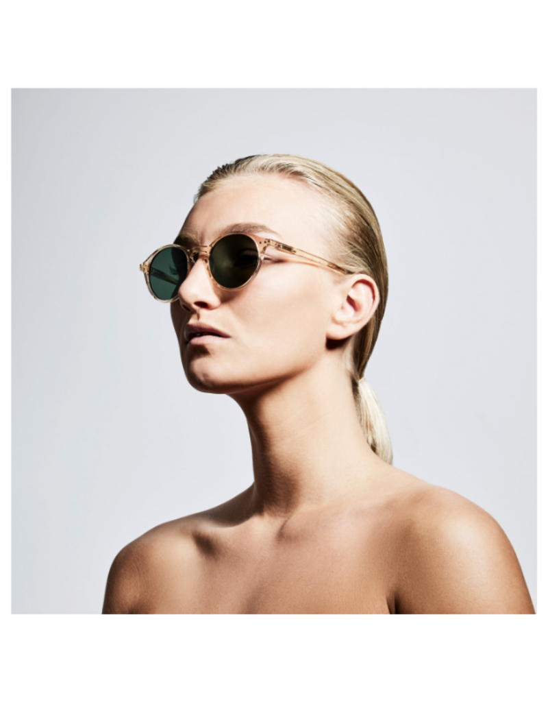PILGRIM Roxanne Sunglasses in Nude Clear by Pilgrim