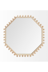 mercana Torquay Octagon Wood Mirror