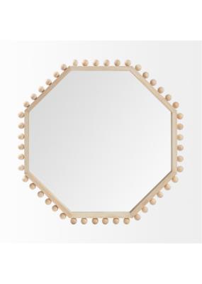 Torquay Octagon Wood Mirror