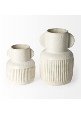 mercana Judy Eggshell Ceramic Vase