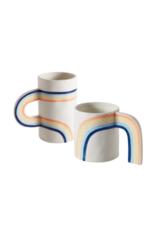 Hofland Good Vibes Short Mug With Arc Handle