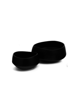 Orleans Ceramic Bowl Black