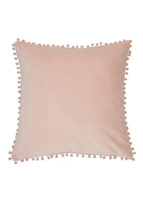 Velvet Soft Pink Cushion