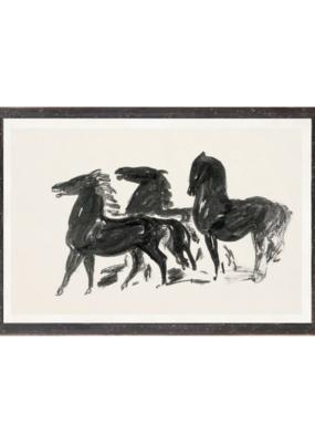 Gestel Three Horses Art Print