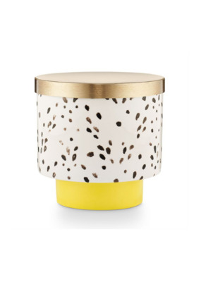 Illume Golden Honeysuckle Ceramic Candle