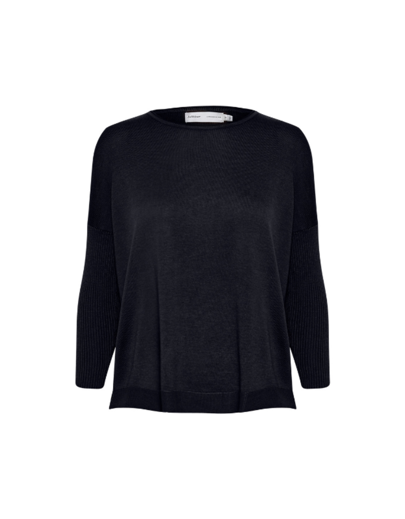InWear Mira Sweater in Marine Blue by InWear