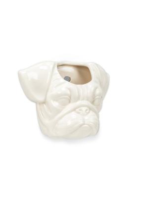 Animal Wall Planter Pug Head