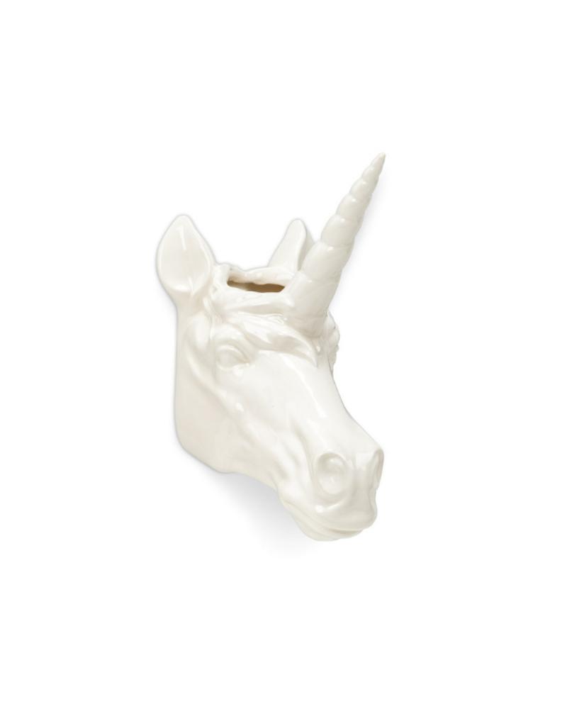 Animal Wall Planter Unicorn Head