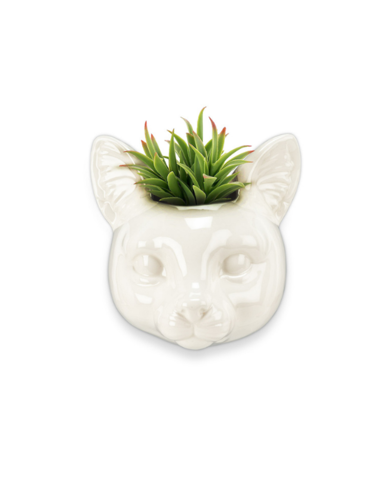 Animal Wall Planter Cat Head