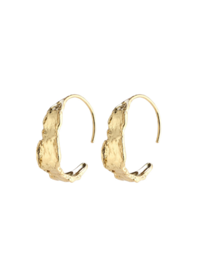 PILGRIM Compass Earrings Gold-Plated by Pilgrim