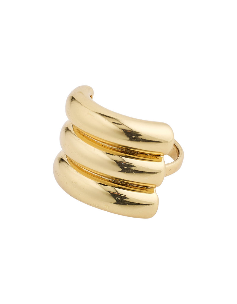 PILGRIM Heritage Ring Gold-Plated by Pilgrim