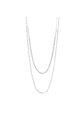 PILGRIM Cherished 2-in1 Necklace in Silver-Plated Crystal by Pilgrim