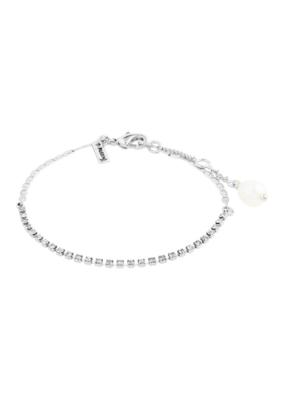 PILGRIM Cherished Bracelet Silver-Plated Crystal by Pilgrim