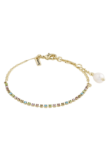 PILGRIM Cherished Bracelet Gold-Plated Multi by Pilgrim