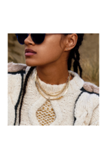 PILGRIM Ronja Gold-Plated Necklace by Pilgrim