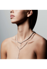 PILGRIM Simplicity 2-in-1 Silver-Plated Necklace by Pilgrim