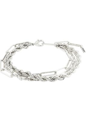 PILGRIM Simplicity Silver-Plated Bracelet by Pilgrim