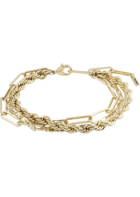 PILGRIM Simplicity Gold-Plated Bracelet by Pilgrim