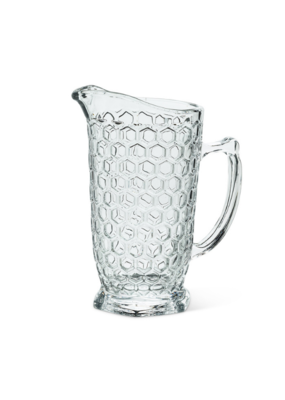 Honeycomb Glass Jug
