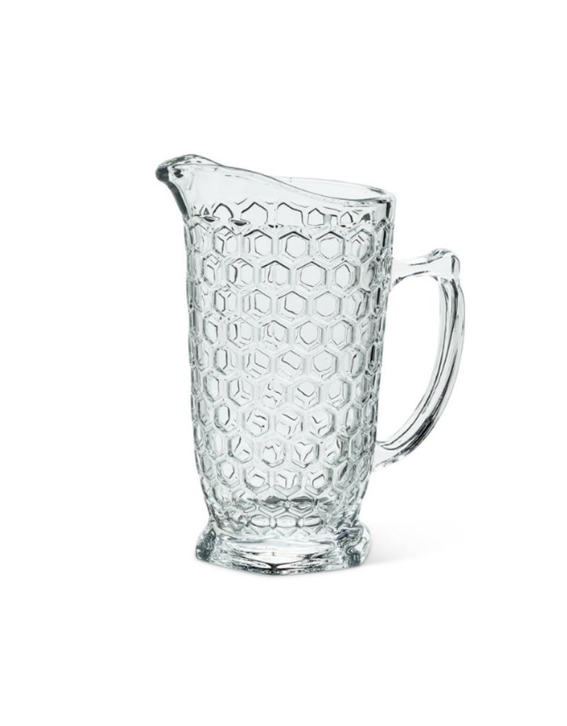 Honeycomb Glass Jug