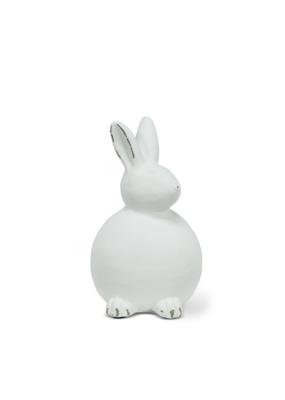 White Sitting Rabbit Small
