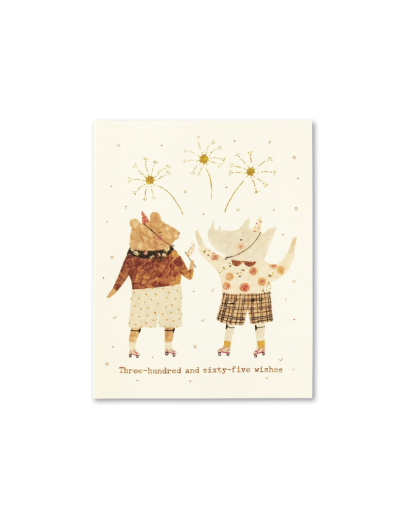 365 Wishes Card